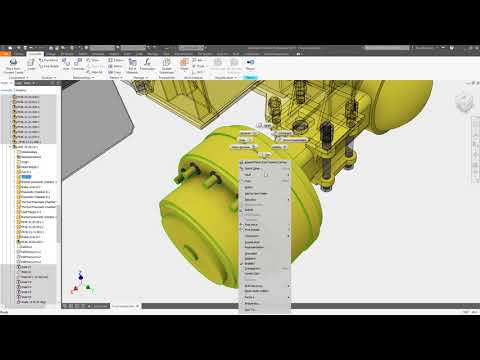 Inventor 2019.1 What's New: Content Center Enhancements