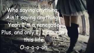 Eva Simons Renegade Lyrics