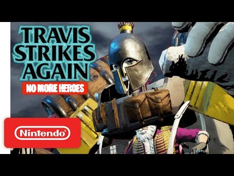 Travis Strikes Again: No More Heroes - Coffee & Doughnuts Trailer - Nintendo Switch thumbnail