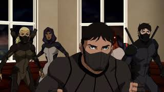 Young justice S3 X26 brion and terra vs their uncle