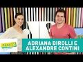 Adriana Birolli e Alexandre Contini - Pânico - 09/02/17
