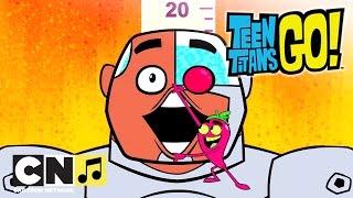 Haideți tineri titani ♫ Jocul condimentat ♫ Cartoon Network