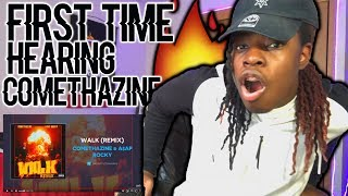 "Comethazine & A$AP Rocky ""Walk"" (Remix) (AUDIO) 