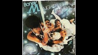 BONEY M.   NIGHTFLIGHT TO VENUS (1978) LP VINILO FULL ALBUM