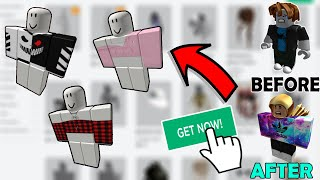 Roblox Outfits Girl Free How To Get Free Clothing In Roblox