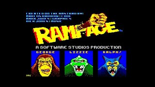 Let's Play Amstrad CPC – Aaargh ! + Rampage