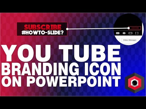 How to make a PNG Branding Icon for your YouTube channel? // HowTo-Slide?