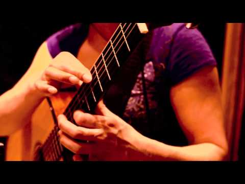 "Christie Lenee - ""Breath of Spring"" - Zoom Acoustic Guitar Tapping"