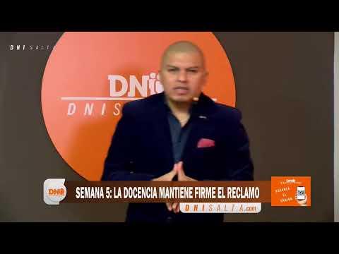 Video: DNI TV: PARA EL GOBIERNO, SALTA TIENE EL MEJOR SUELDO DOCENTE DEL PÁIS