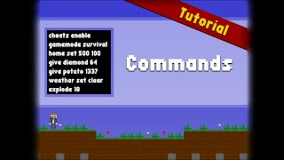 Commands - Mine Blocks Wiki