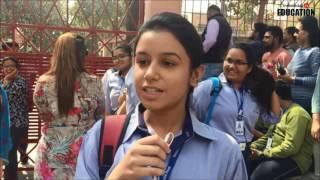 Class 10 Hindi Board Exam Students' Reaction | CBSE Board Exams 2017