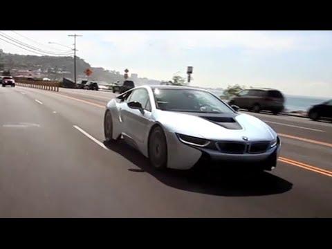 First Drive: BMW i8
