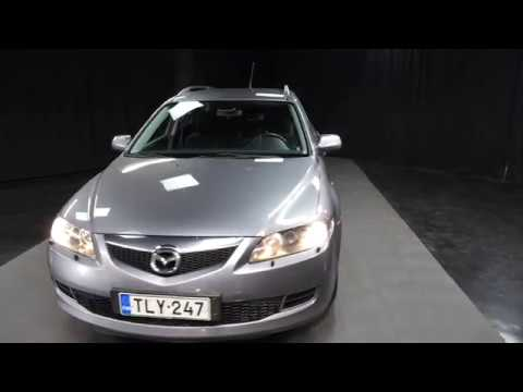 Mazda 6 1.8 Sport Wagon Elegance  W04 ***LÖYTÖPIHA***, Farmari, Manuaali, Bensiini, TLY-247