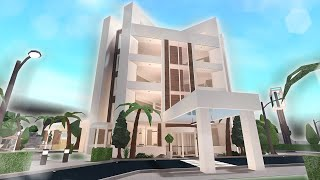 Finishing Building My Luxury Hotel  + GRAND OPENING (bloxburg)