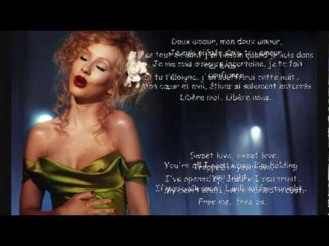 Bound To You - Christina Aguilera - Karaoke / Instrumental - English / French [HD]