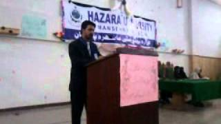 preview picture of video 'musa raza speech'