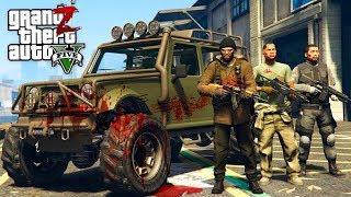 GTA 5 Зомби Апокалипсис - СПАСАЮ ВЫЖИВШИХ ОТ ЗОМБИ В ГТА 5 МОДЫ #11! РЕАЛЬНАЯ ЖИЗНЬ ОБЗОР МОДА GTA 5