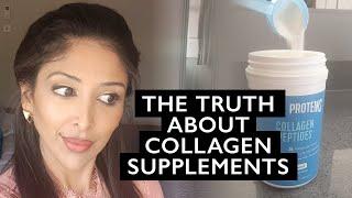 COLLAGEN SUPPLEMENTS- DOCTOR V| Does it work? | Brown/ dark skin, SOC | DR V| Joints, Hair, Skin