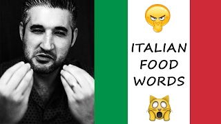 HOW TO PRONOUNCE ITALIAN FOOD | Italian Words You Have Been Saying Wrong