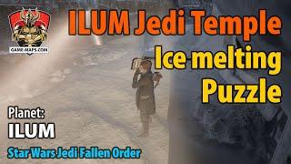 Video Ilum Jedi Temple Ice Melting Puzzle