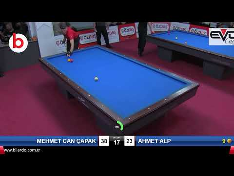 MEHMET CAN ÇAPAK & AHMET ALP Bilardo Maçı - SAKARYA ÖZPAŞ CUP 2019-ÇEYREK FİNAL
