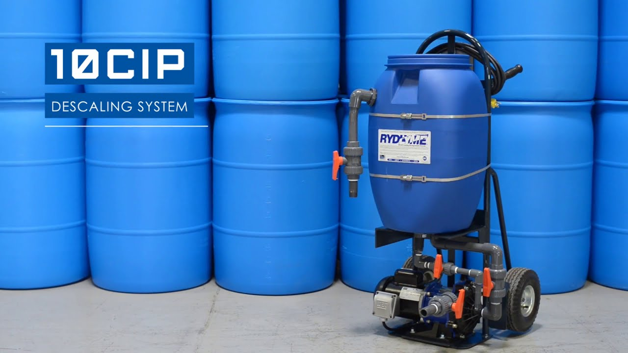 RYDLYME 10CIP (Clean in Place) Industrial Descaling System