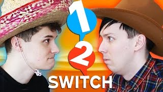 Dan vs Phil: 12SWITCH it's insane and more unintentionally sexual than anyone expected