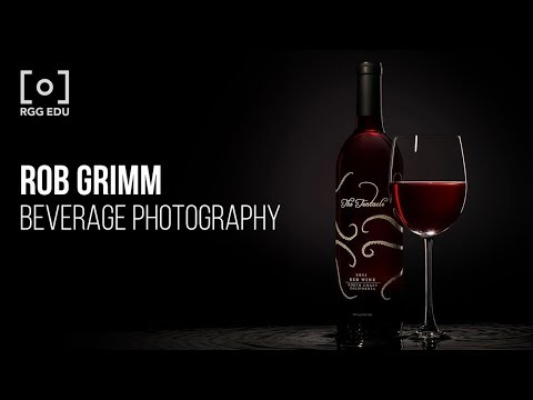 Beverage Photography & Retouching With Rob Grimm | PRO EDU Tutorial