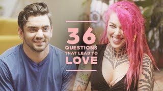 Can 2 Strangers Fall in Love with 36 Questions? Claudio + Victoria