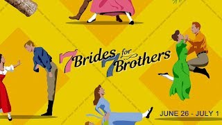 Sizzle Reel: SEVEN BRIDES FOR SEVEN BROTHERS: June 26 - July 1 at the Wells Fargo Pavilion