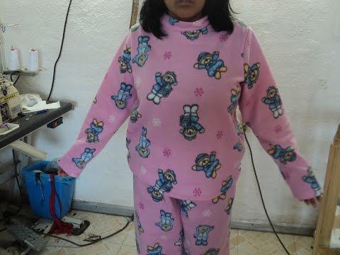Como hacer una pijama para mujer: Saco