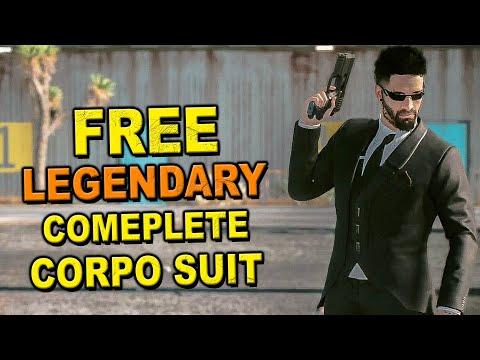 Cyberpunk 2077: How to Get Free Legendary Corpo Suit Set