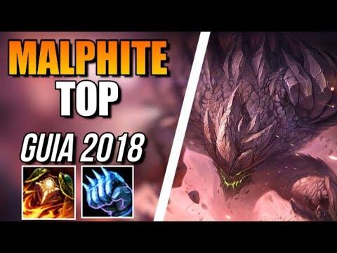 ► MALPHITE TOP vs RIVEN [GUIA S8 en ESPAÑOL] - ¡MALPHITE + YASUO = FUN!