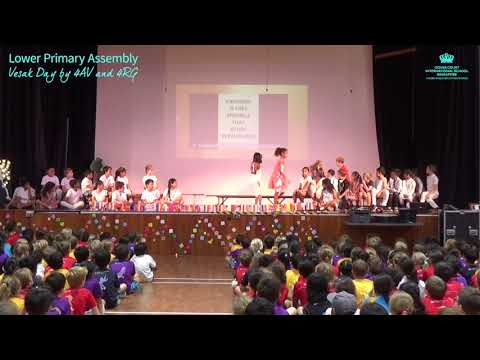 Upper Primary Assembly - Vesak Day by 4AV and 4RG