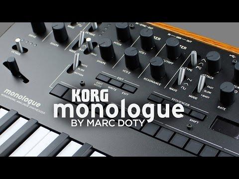 The Korg Monologue- Part 1- Oscillators 1