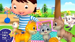 Ten Little Animals - Kittens and Puppies | Little Baby Bum - New Nursery Rhymes for Kids