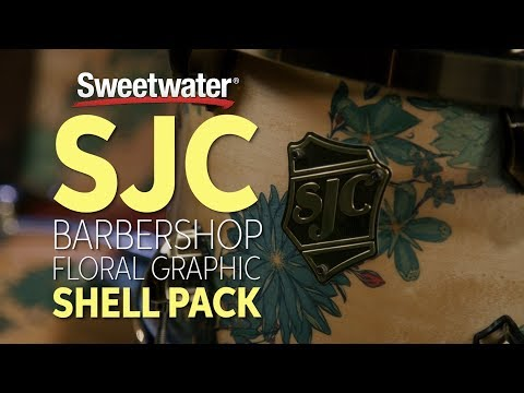 SJC Custom Drums Barbershop Floral Graphic Shell Pack Review