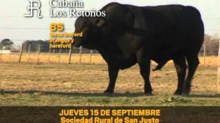preview picture of video 'Primer Remate anual Cabaña Los Retoños - San Justo - Santa Fe'