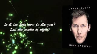 James Blunt - Sun On Sunday + LYRICS (Moon Landing 2013)