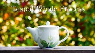 【Pottery】How To Make A Porcelain Teapot