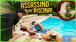 Assassinos: Descubra O Assassino Na Piscina!!  Mini Game Novo   Rezende Evil