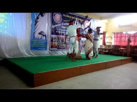 Our college nss camp dancing video