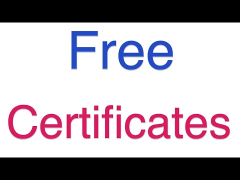 How to Get a Free Certificate for Mindfulness Practice - YouTube