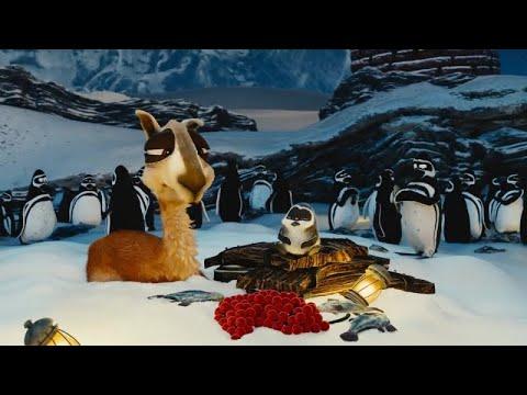 Забавный короткометражный мультфильм про голодную Ламу
