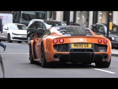 Noble M600 Cruising through London!
