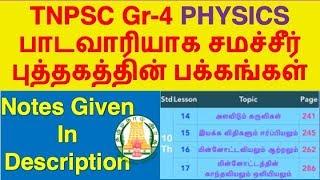 TNPSC Physics Syllabus, Topic Wise Study Plan | TNPSC Group-4/CCSE-IV 2019