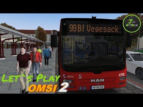 OMSI2-AddOn Bremen-Nord | first look and Run - смотреть онлайн на