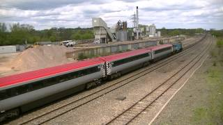 preview picture of video 'Virgin Trains Chiltern Diversions - Part 1 (Banbury).wmv'