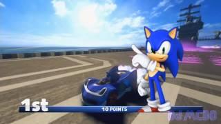 Sonic & All Stars Racing Transformed (X360) - Dragon Cup - Expert [HD]