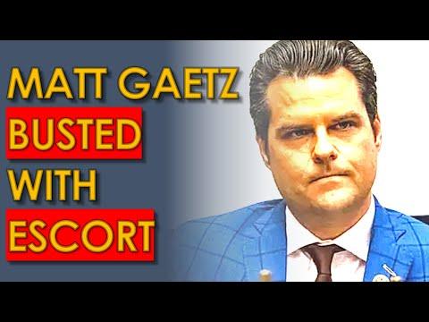 Matt Gaetz BUSTED with ESCORT in SHOCKING Investigation